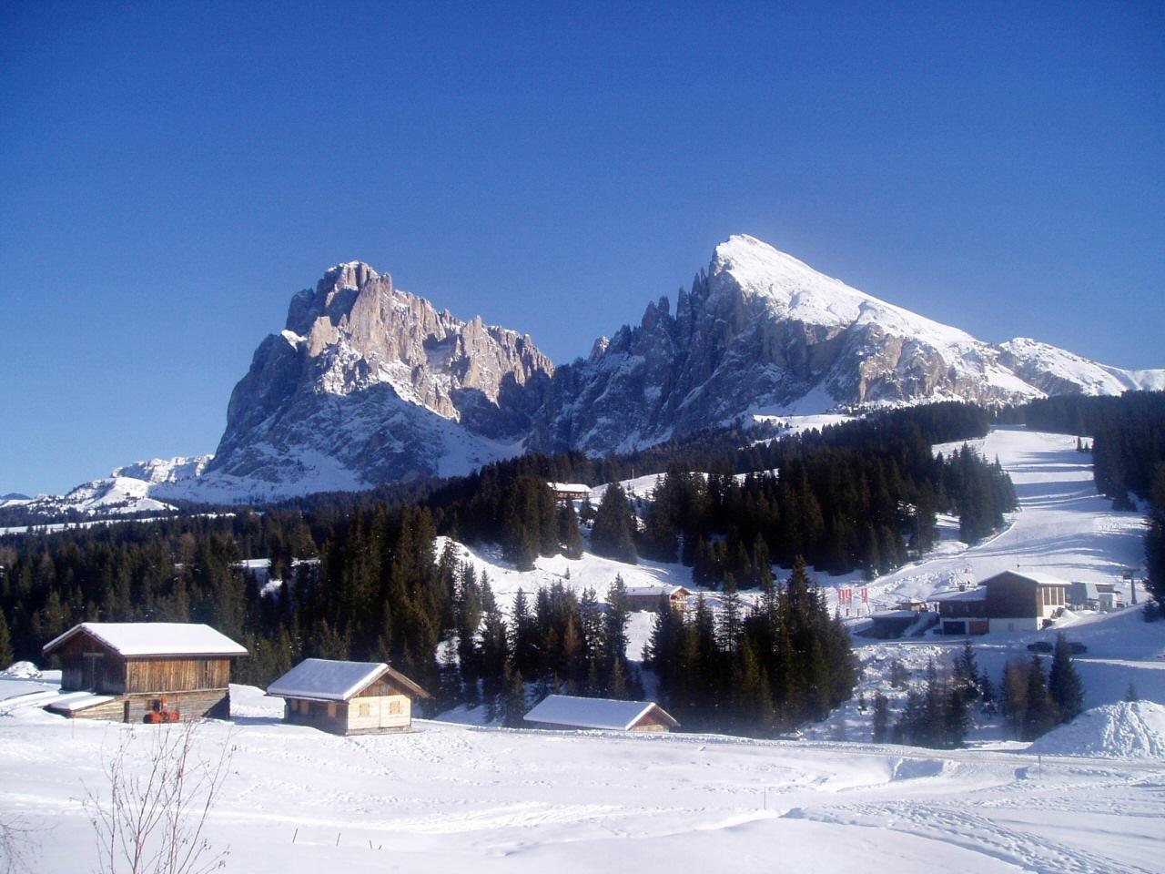 Qual la montagna con profilo pi riconoscibile delle for Paesaggi invernali per desktop