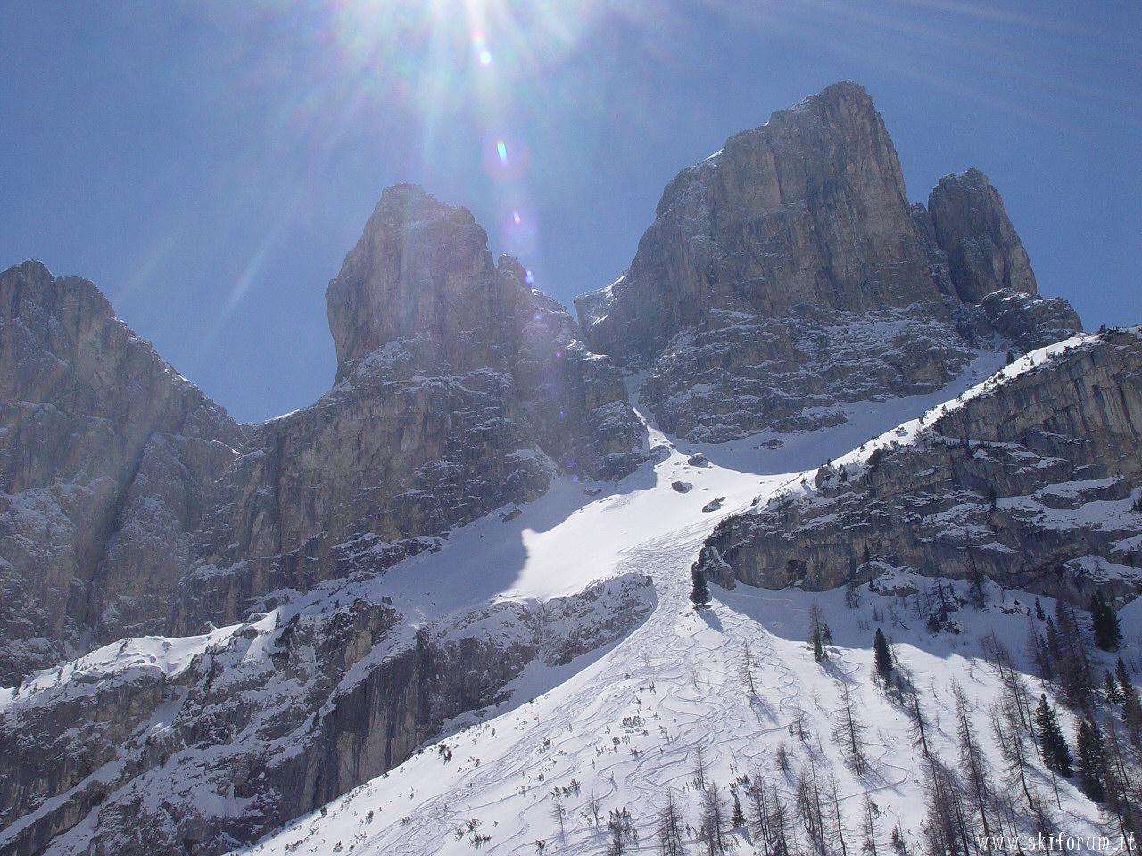 Sfondi paesaggi innevati panorami for Paesaggi invernali per desktop