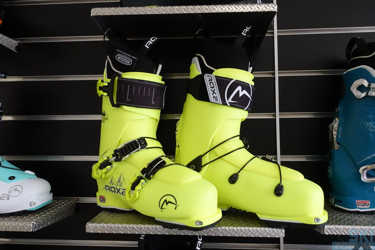 Showroom di Roxa Ski Boots.