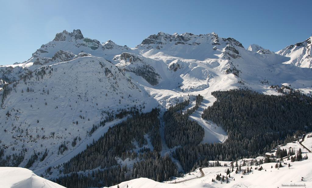 Zona della Porta Vescovo, Arabba - Dolomiti Superski