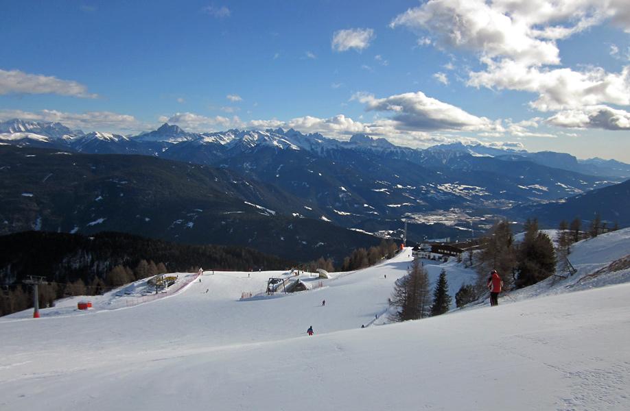Gitschberg Jochtal: panorama invernale
