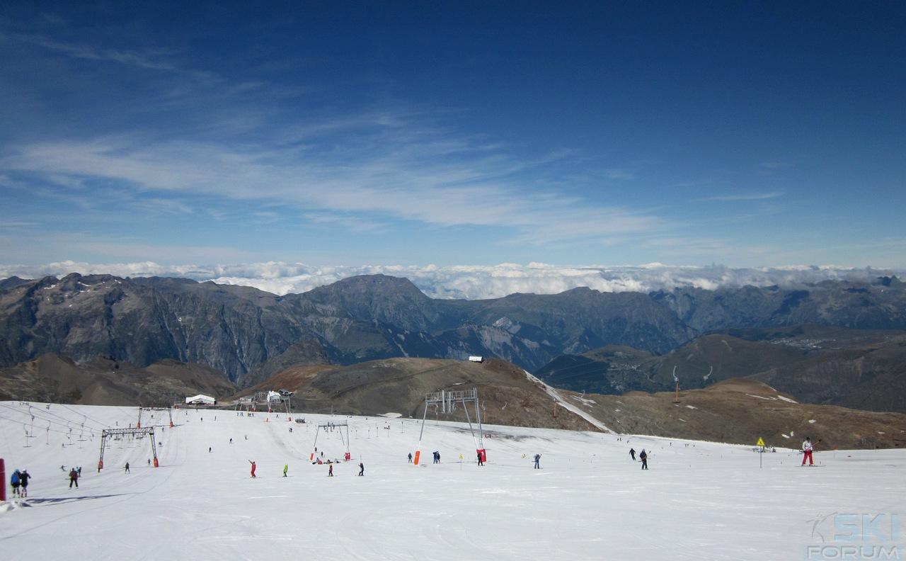 ghiacciiao di Les Deux Alpes