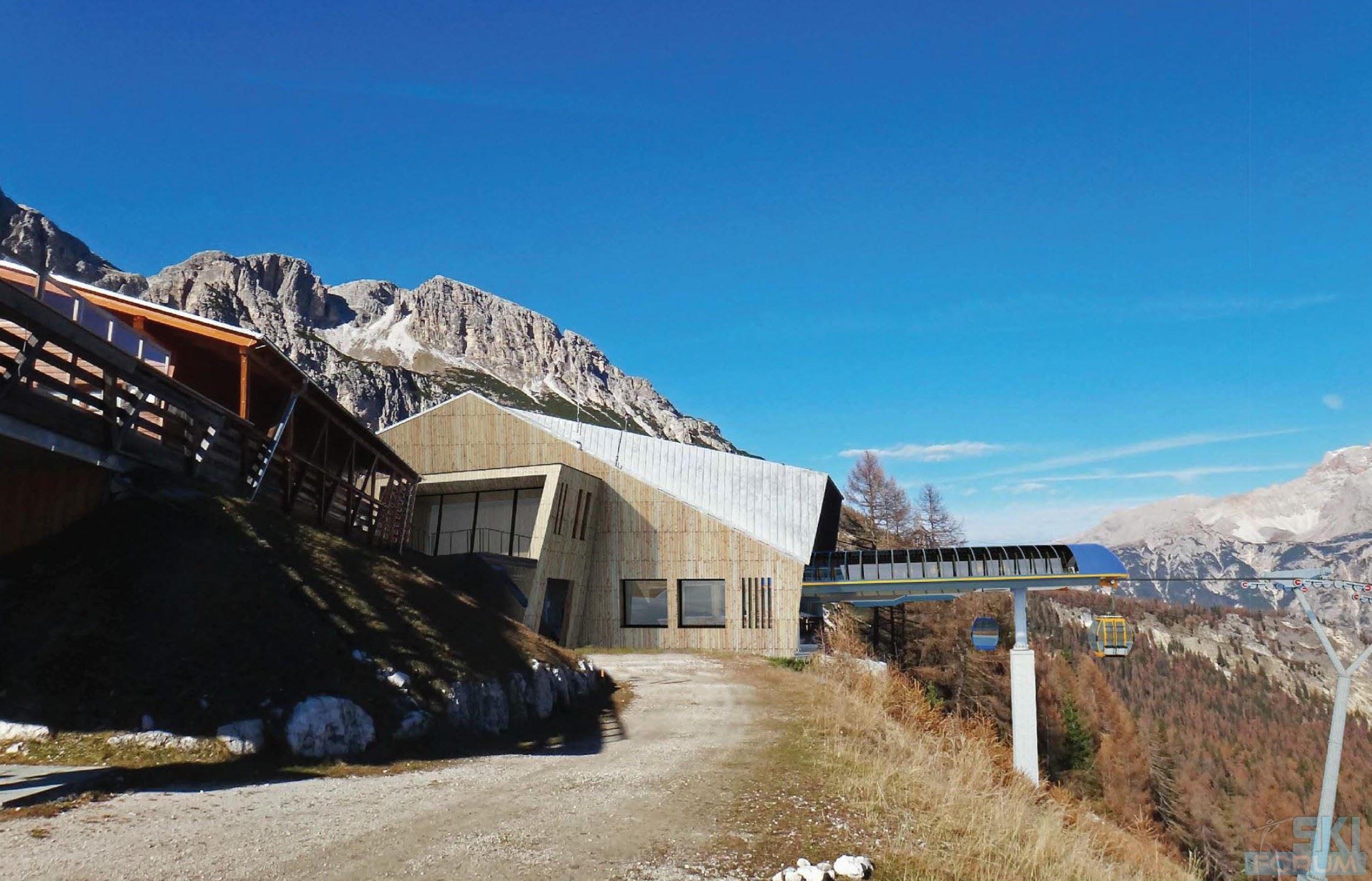 A Cortina d'Ampezzo una nuova cabinovia e molto altro