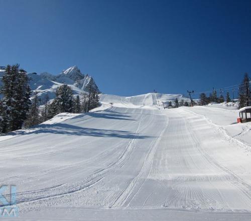 A Cortina d'Ampezzo -8 all'apertura del Faloria