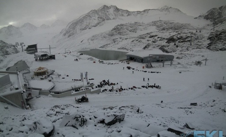 Webcam Pitztaler Gletscher