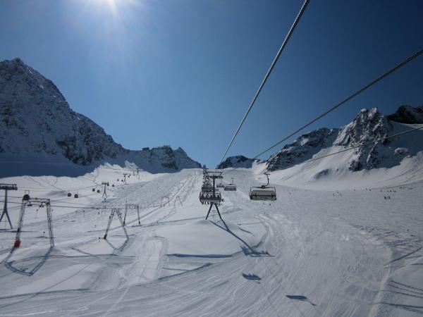 In viaggio sulle seggiovia eisjoch di stubai tirolo for Vista sulla valle cabine colline hocking
