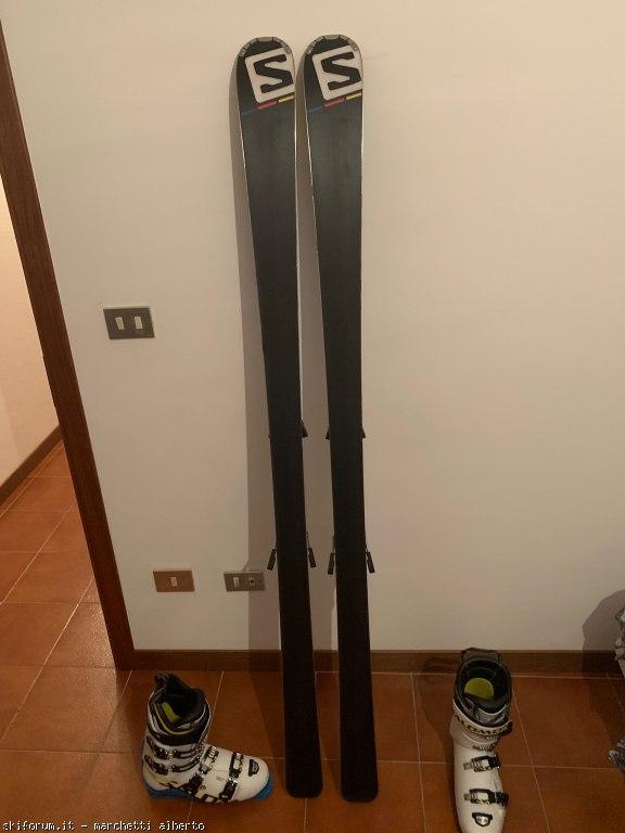Vendo salomon x race 180 cm