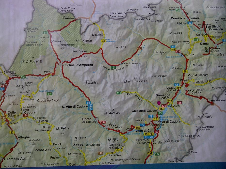 Cartina Geografica Dolomiti.Skiforum