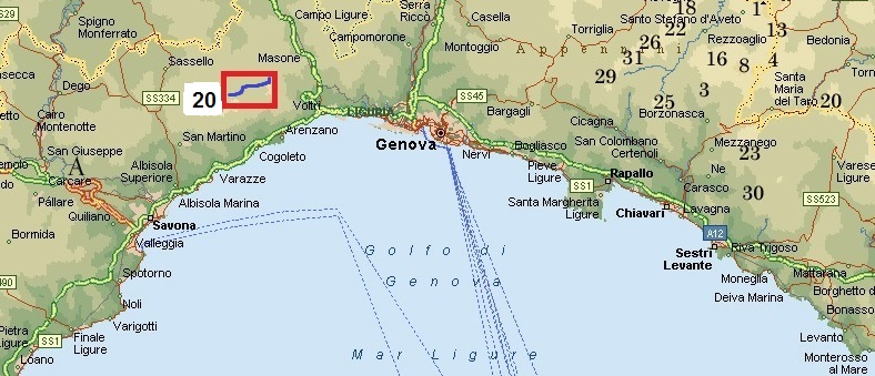Cartina Turistica Liguria.Skiforum