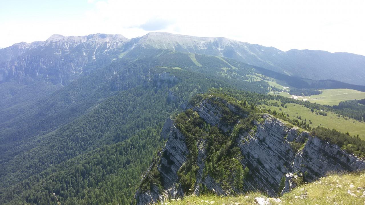 Trekking anello vezzena cima larici for Le pigne dei larici