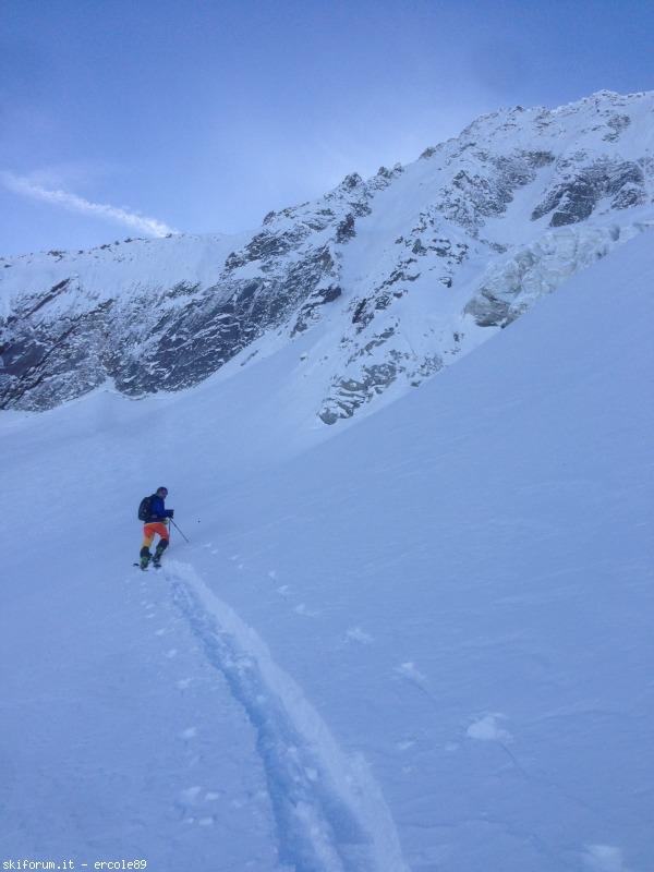 Di nuovo una gran sciata sulla nord della busazza via for Vista sulla valle cabine colline hocking