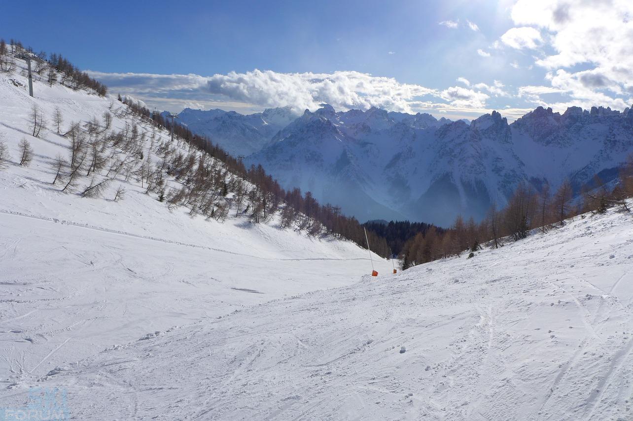 UDINE: Grave la bambina che è caduta mentre scendeva sulla pista di scii
