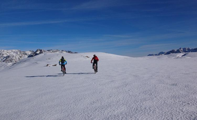 Snow & bike al Monte Pagano